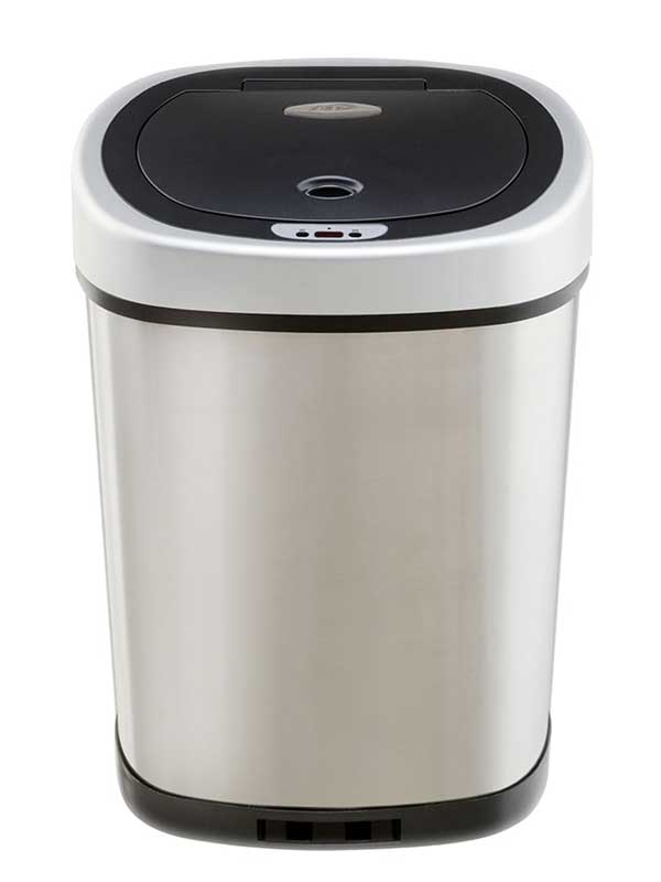 Best Trash Cans Small Slim Or Big For Home And Kitchen - Bathroom garbage can with lid for bathroom decor ideas
