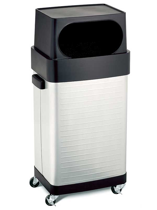 seville classics 17gallon ultrahd commercial stainless steel trash bin