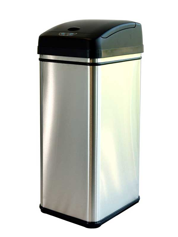 bin trash modern with unlimited com stylish of designer regard trashcans outside and can to outdoor large kitchen cans variety